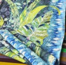 DESIGNERS GUILD - Arjuna Leaf Viridian Throw thumbnail