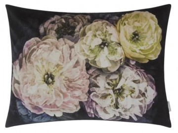 DESIGNERS GUILD - Le Poeme de Fleurs Midnight Cushion